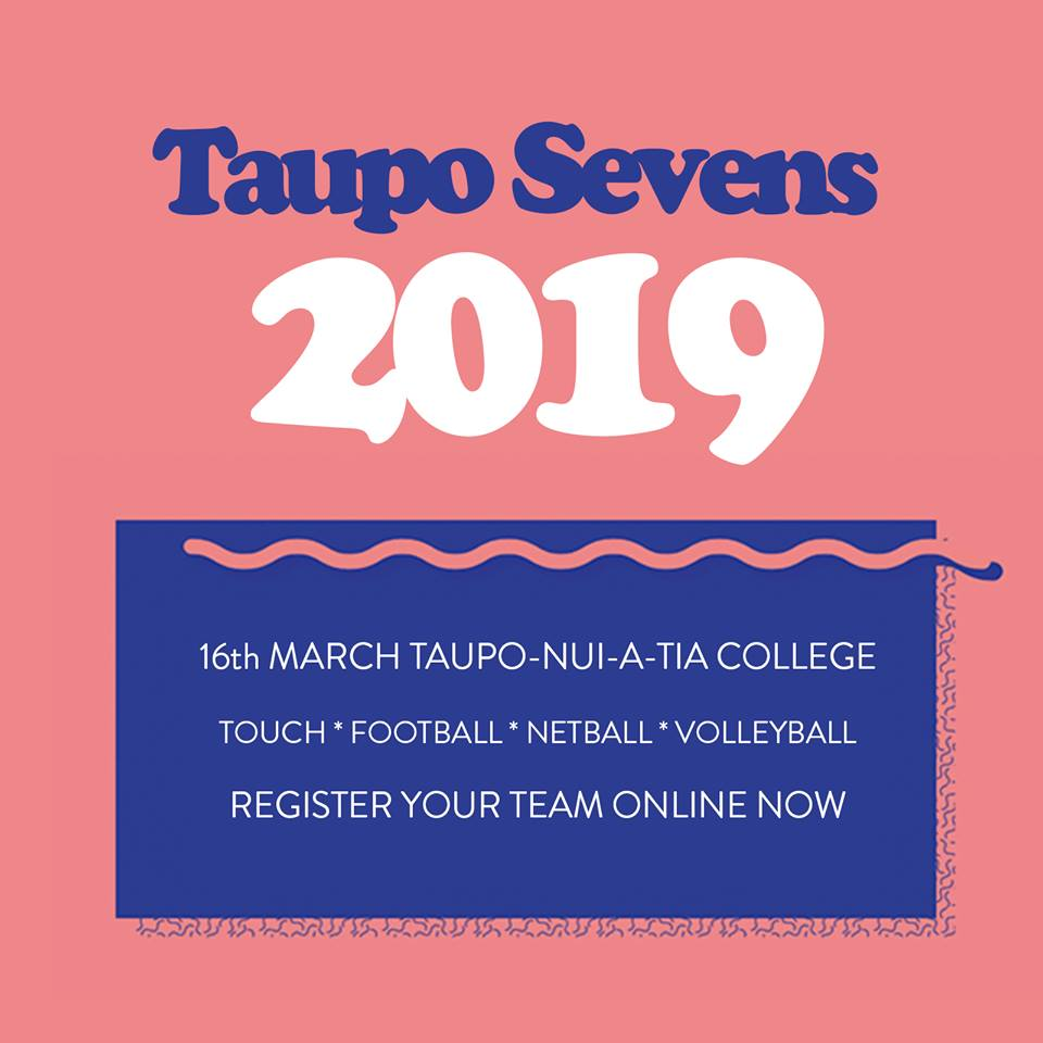 Taupo Sevens Poster 2019